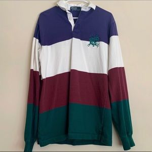Vintage Ralph Lauren Polo striped long sleeve